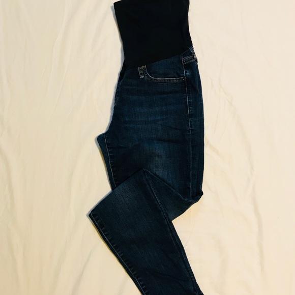 c981b97846932 GAP Denim - Gap Maternity full panel true skinny jeans, size29
